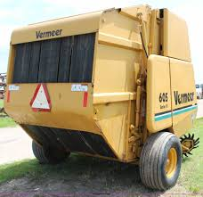 vermeer 605k round baler item j1137 sold july 16 ag equ