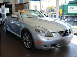 how to sell used cars 2006 lexus sc auto manual used lexus sc 430 for sale in san diego ca edmunds