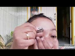 membuat alis dengan henna tutorial henna alis cekidot youtube