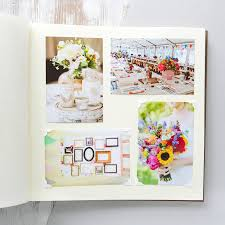 large wedding photo albums large leather photo album by begolden notonthehighstreet