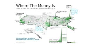 Green Line Boston Map by Where U0027s The Money In America This 3d Map Will Show You Marketwatch