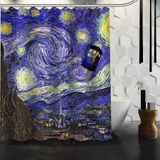 Doctor Who Shower Curtain Shower Curtains