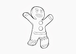 the gingerbread man coloring pages shrek gingerbread man coloring pages image coloring pages