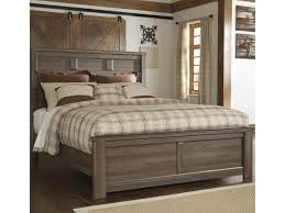 Zelen Bedroom Set Dimensions Signature Design By Ashley Juno Transitional Queen Panel Bed