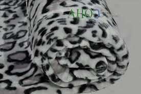 Leopard Print Faux Fur Throw Faux Fur Mink Sofa Bed Throw White Snow Leopard Print Throw Fleece