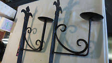 Spanish Style Sconces Wrought Iron Sconce Ebay