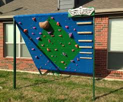 Backyard Wall Backyard Climbing And Training Wall 7 Steps With Pictures
