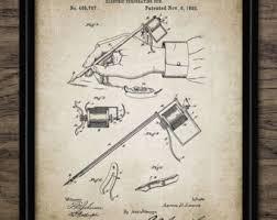 tattoo machine patent print set of 4 tattoo gun design
