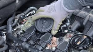 audi a5 engine problems 2011 audi a5 2 0t tfsi pcv valve diaphragm change fix