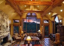 Best Dream Log Home Images On Pinterest Log Cabins Small Log - Log home interior designs