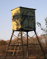 Elevated Bow Hunting Blinds Elevated Hunting Tower Blind Easy Assembly Deer Texas Com