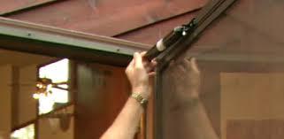 sliding glass door closer how to adjust a pneumatic door closer on a storm door today u0027s