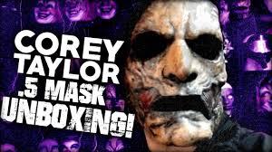 Slipknot Corey Taylor Halloween Masks by Corey Taylor 5 Mask Unboxing Youtube