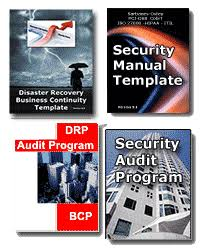 drp bcp and security template audit bundle