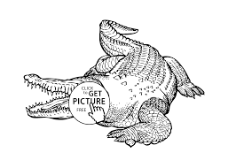 crocodile coloring pages kids coloring pages