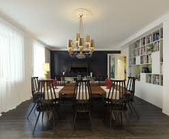 dining room mesmerizing tube covered lamps forming nice modern