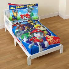 nickelodeon paw patrol toddler boy u0027s 4 piece bedding set baby