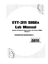 sigex lab manual v1 1 sampling signal processing signal