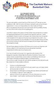 treasurer s report agm template 2015 agm president s report piranhas caulfield malvern