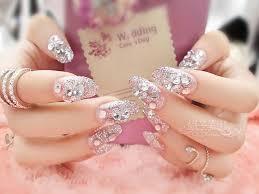 bijoux pour ongles cat u0027s eye bling rhinestone 24pcs nail patch