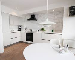 Small Kitchen Color Scheme Ideas 8993 Little Apartment Therapy Grey Living Room Chairs Is Living In