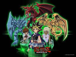 yu gi oh blue wallpaper anime hd wallpapers