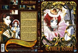 trinity blood anime covers covers of trinity blood volume 6 french