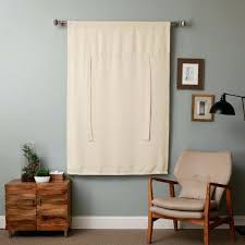 Tie Up Curtain Shade Tie Up Curtains Tie Up Shades Rod Pocket Thermal Insulated