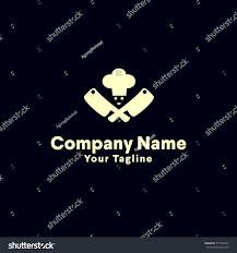 Kitchen Logo Design Chef Logo Design Vector Kitchen Logo Stock Vector 571834957