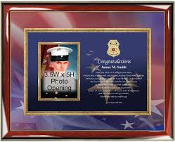 graduation frame sheriff and academy graduation gift present