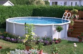 Backyard Swimming Pool Landscaping Ideas Above Ground Pool Designs Landscaping U2013 Bullyfreeworld Com