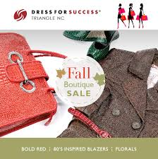 pop up boutique sale dress for success triangle nc