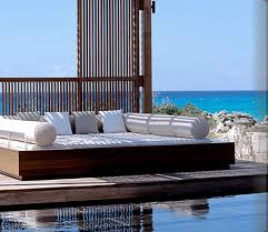 armchair traveler luxury hotel daybed bolsters home