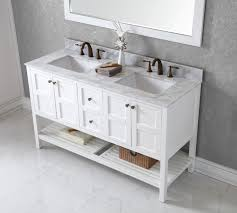 white bathroom vanity cabinet vanity virtu usa winterfell 60 bathroom vanity cabinet in white