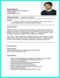 Data Entry Responsibilities Resume Data Entry Specialist Job Description Resume Free Resume Example