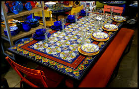 incredible ideas mosaic dining table lovely design mosaic dining