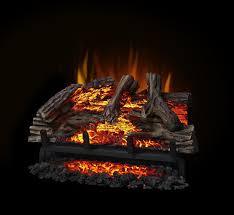 amazon com napoleon woodland electric fireplace log set home