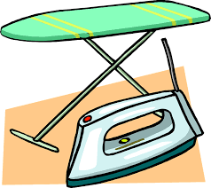 iron clothing free vector graphic ironing board iron clothes free image on