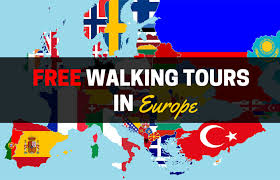 a list of free walking tours in europe