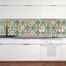 moroccan tiles stickers set of 4 tiles tile decals art for
