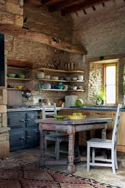 barn kitchen ideas small barn kitchen with amazing rustic oak shelves hupehome
