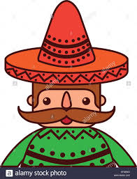 cartoon sombrero cartoon man mustache stock photos u0026 cartoon man mustache stock
