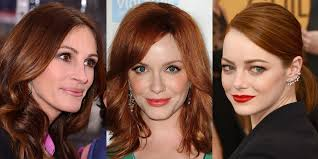 auburn copper hair color best hair colors for spring 2018 celebrity hair color trends for