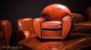 canapé et fauteuil en cuir fauteuil authentique création artisanale