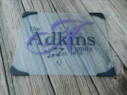 cutting board personalized personalized glass cutting boards