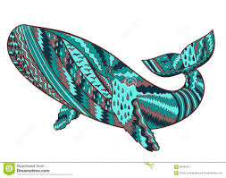 hand drawn humpback whale stock vector image 62252517