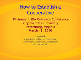 va farm bureau how to establish a cooperative 3 rd annual usda outreach conference