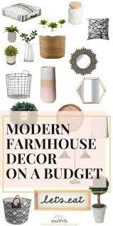 farmhouse decor target modern farmhouse decor on a budget from target