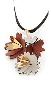 leather flower necklace images Marni leather flowers necklace shopbop jpg