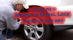lexus wheels and tires for sale how to remove a locking wheel nut without the key youtube